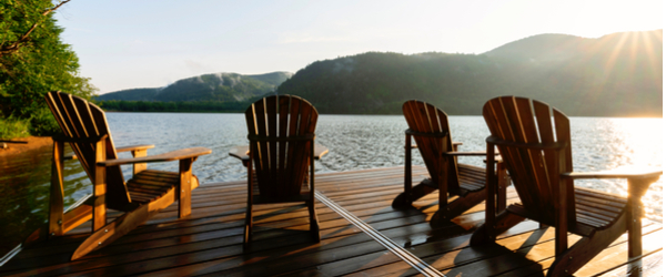 laurentians-tremblant-adirondak-chairs-lake-summer